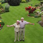 El mejor césped Británico, un jubilado de 74 años.